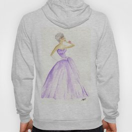 You Cannot Ignore the Color Purple Hoody