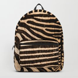 Zebra - Zebra Skin - Beautiful - Genuine - Zebra stripes #decor #society6 #buyart Backpack