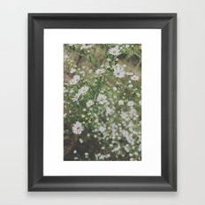wildflowers. Framed Art Print