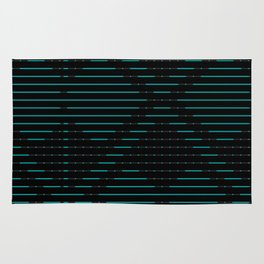 Artis 2.0, No.7 in Black & Gold Rug