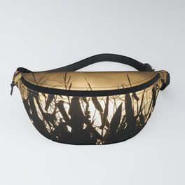 Corn field silhouettes Fanny Pack