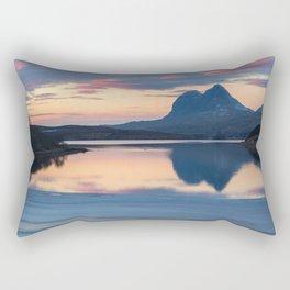 Suilven a Winter Sunset Rectangular Pillow