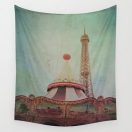 Bohemia of Paris Wall Tapestry