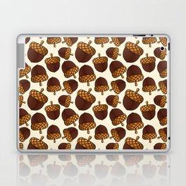 Autumn Acorn Pattern Laptop & iPad Skin