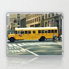 New York school bus Laptop & iPad Skin