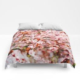 Cherry Blossom Tree (Color) Comforters