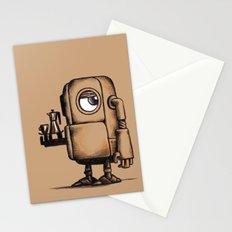 Robot Espresso #1 Stationery Cards