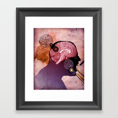 Daniel's Head Framed Art Print