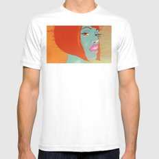 Party Girl Mens Fitted Tee White MEDIUM