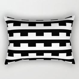 BW Tessellation 5 2 Rectangular Pillow