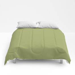 Moss Green | Solid COlour Comforters