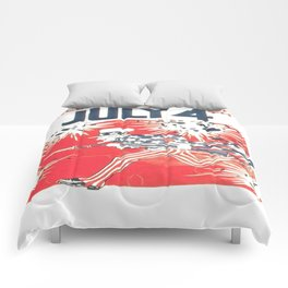 4th of July - Uncle Sam Comforters