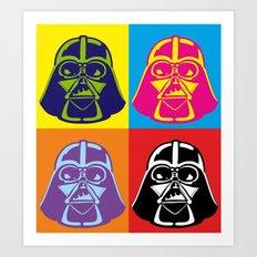 Darth Vader - Pop Art - Star Wars Art Print