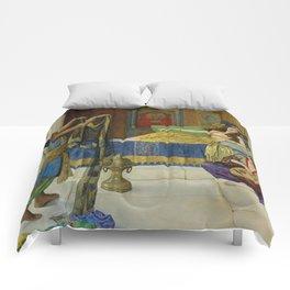 "John Collier ""Myrrh, Aloes and Cassia"" Comforters"