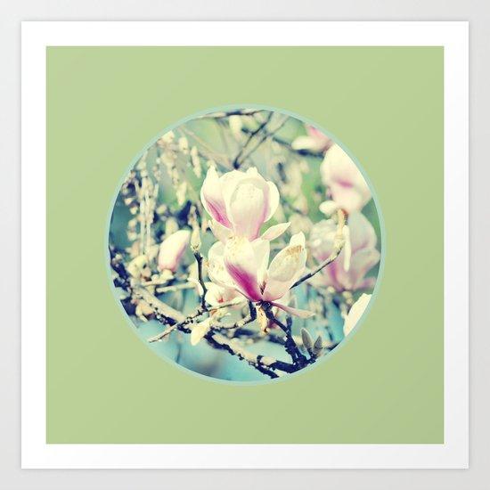 Delicate Nature Art Print