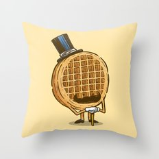 The Fancy Waffle Throw Pillow