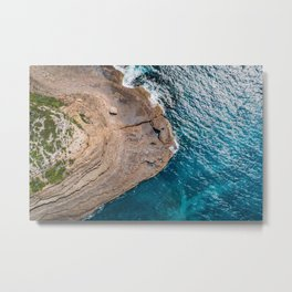 Clear Coastal Waters of the South Coast Metal Print