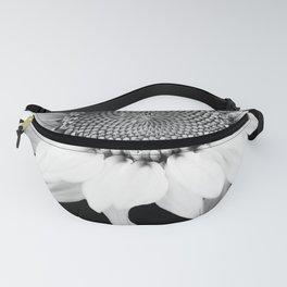Sunflower In Black And White #decor #society6 #buyart Fanny Pack