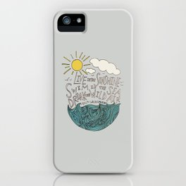 Emerson: Live in the Sunshine iPhone Case
