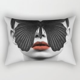 BLACK BUTTERFLY Rectangular Pillow