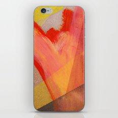 Orange flow iPhone & iPod Skin