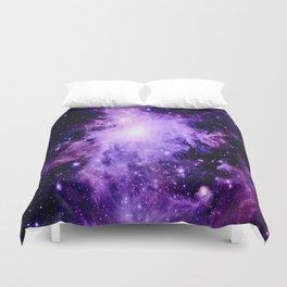 Orion nebUla. : Purple Galaxy Duvet Cover