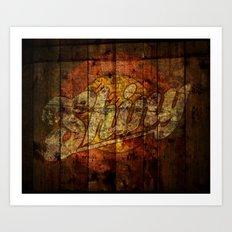 Shiny Art Print