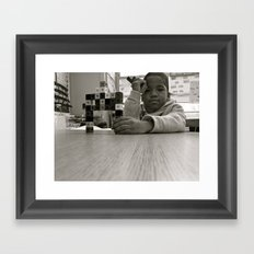 why we can't wait Framed Art Print