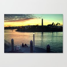 Together Time Canvas Print