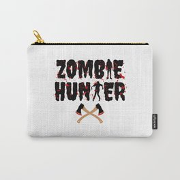 Zombie Hunter - Horror Infects Undead Blood Stain Carry-All Pouch