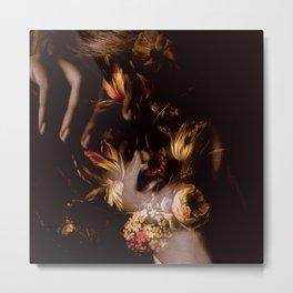 Autumn Roses | Baekhyun Metal Print