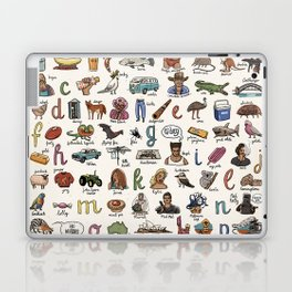 The Australian Alphabet Laptop & iPad Skin