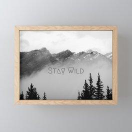 Stay Wild Framed Mini Art Print