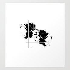 Graphic Floral Art Print