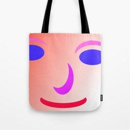 The smile of M.L... Tote Bag