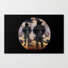 sky duo Canvas Print