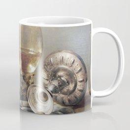 Pieter Claesz. - Still-life with Wine Glass and Silver Bowl Coffee Mug