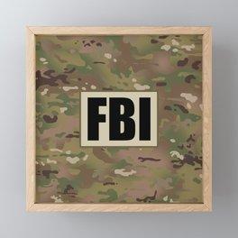 FBI Framed Mini Art Print