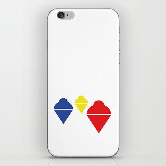 Whirlgigs iPhone & iPod Skin