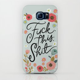 Pretty Swe*ry: F this Sh*t iPhone Case
