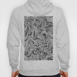 Gray Painting Hoody
