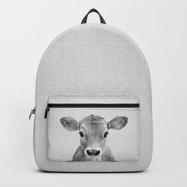 Calf - Black & White Backpack