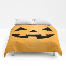 Happy Jack-O-Lantern Comforters