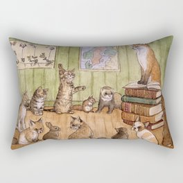 Classroom Rectangular Pillow