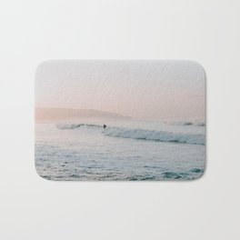 summer waves Bath Mat