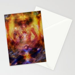 Deep Meditation Stationery Cards