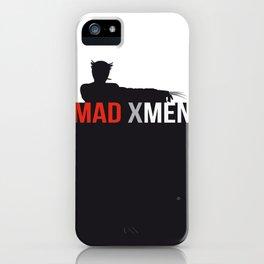 MAD X MEN iPhone Case
