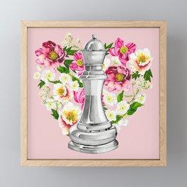Mother: a title above Queen Framed Mini Art Print