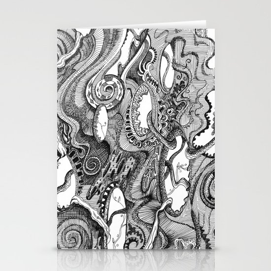 Tendrils Stationery Cards