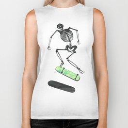 Skeleton Skater Biker Tank